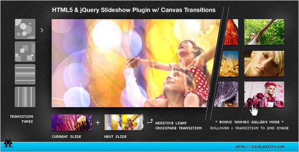 HTML5 Image is a Transitions Jquery Plugin