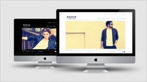 Rustik – Minimalist E-Commerce Ready Theme