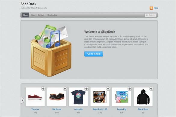 ShopDock is WordPress Theme by Themify