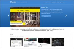 Skylark is a free WordPress Theme