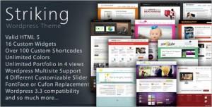 Striking Premium Corporate & Portfolio WordPress Theme