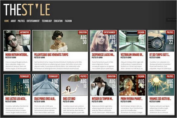 TheStyle is a WordPress Theme by Elegant Themes