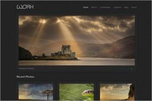 Work Portfolio WordPress Theme