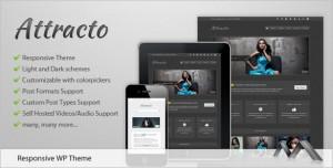 Attracto WP is a creative responsive WordPress Theme