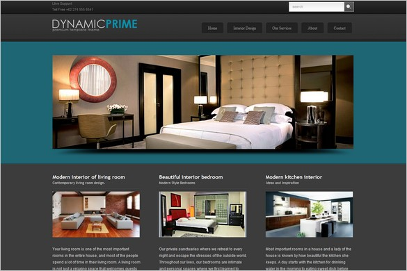 BluePrime Is A Free WordPress Theme By DynamicFreeThemes