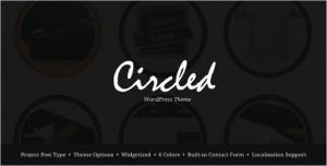 Circled is a Portfolio WordPress Theme