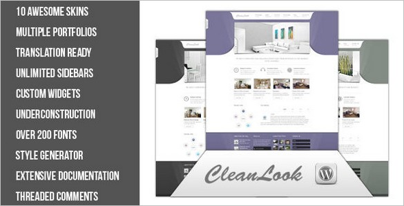 CleanLook – A Multipurpose WordPress Theme