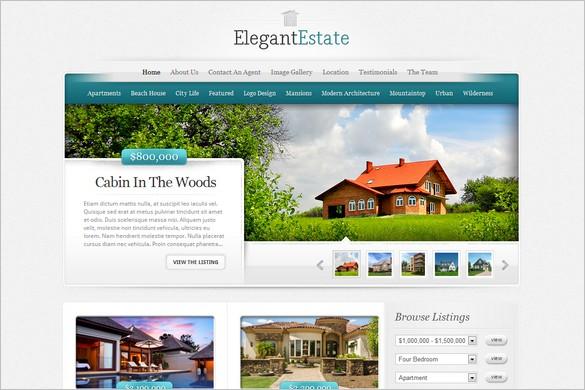 ElegantEstate Premium WordPress Theme