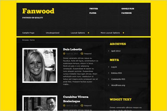 Fanwood is a free WordPress Theme by DevPress