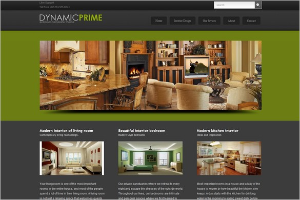 GreenPrime is a free WordPress Theme by DynamicFreeThemes