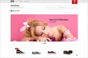 Minshop is a Premium WordPress Theme by Themify