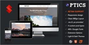 Optics is a Photography & Portfolio WordPress Theme