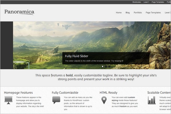 Panoramica is a free WordPress Theme by CPOThemes