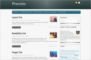 Precisio is a free WordPress Theme by Theme4Press