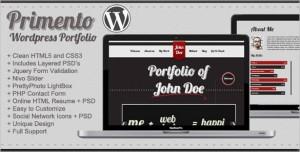 Primento is a WordPress Portfolio Theme