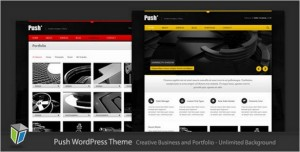 Push is a Business and Portfolio WordPress Theme