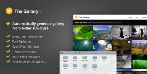 The Gallery is a Photo WordPress Theme