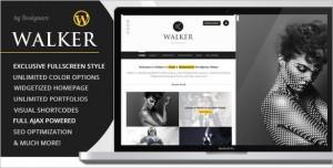 Walker is a AJAX Photography and Portfolio WordPress Theme