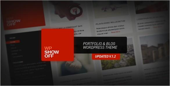 Wp Show Off is a Portfolio and Blog WordPress Theme