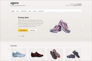 Agora is a eCommerce WordPress Theme by cssigniter.com