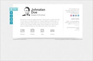 Biopic is a Responsive vCard WordPress Theme