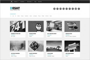 Desat is a Responsive Portfolio WordPress Theme