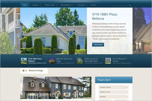 Domestica is a Real Estate WordPress Theme