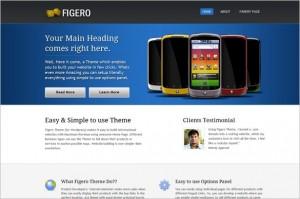 Figero is a free WordPress Theme