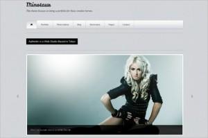 Minotaur is a Portfolio WordPress Theme