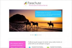 Parachute is a Minimalistic Business WordPress Theme