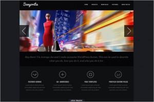 Senyorita Dark is a free WordPress Theme by Joolu Themes