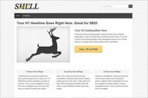 Shell Lite is a free WordPress Theme by ThemeID