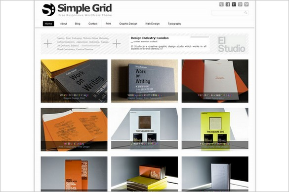 Simple Grid is a free WordPress Theme by Dessign.net