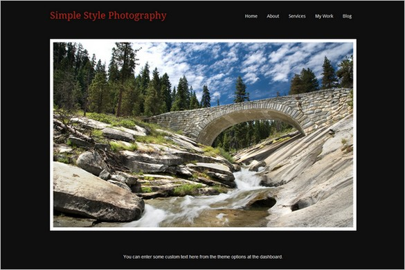 Simple Style is a free WordPress Theme