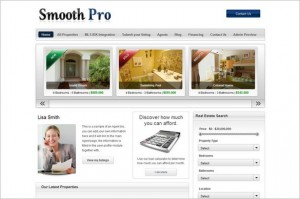 Smooth Pro is a Real Estate WordPress Theme
