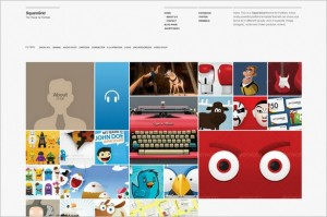 SquareGrid is a Portfolio WordPress Theme