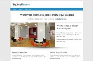 Squirrel is a free WordPress Theme