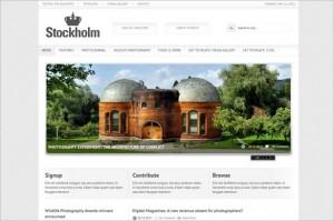 Stockholm is a Magazine WordPress Theme