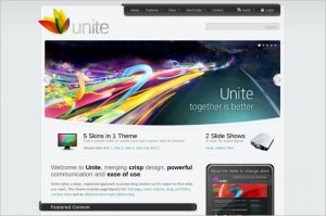 Unite is a Magazine WordPress Theme