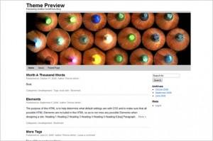 WPstart is a free WordPress Theme