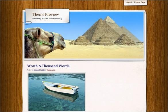 Adventure Journal is a free WordPress Theme