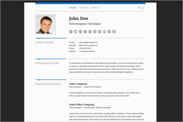 Aegolius is a CV & Business Card WordPress Theme