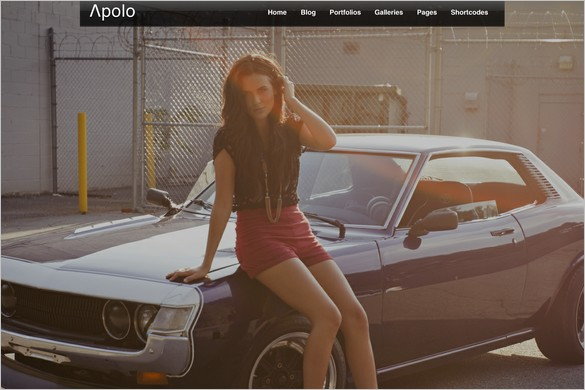 Apolo is a Fullscreen Video WordPress Theme