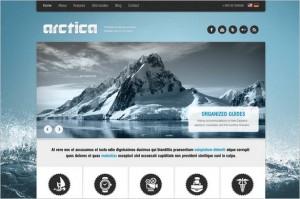 Arctica is a Travel WordPress Theme