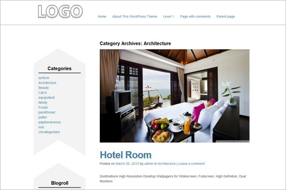 Best Corporate is a free responsive WordPress Theme