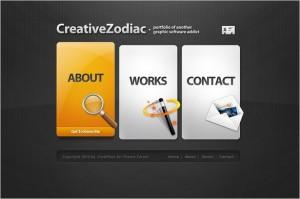 Creative Zodiac is a business card, blog and portfolio WordPress Theme