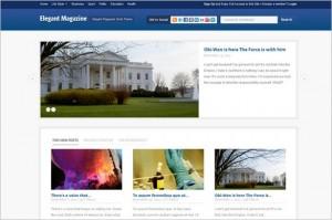 Elemag is a free Magazine WordPress Theme by ThemeWarrior