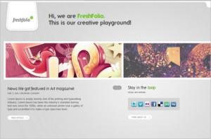 Freshfolio is a WordPress Theme by themefuse