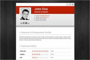 Get Hired is a CV & Business Card WordPress Theme