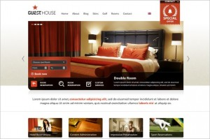 Guesthouse is a Hotel WordPress Theme